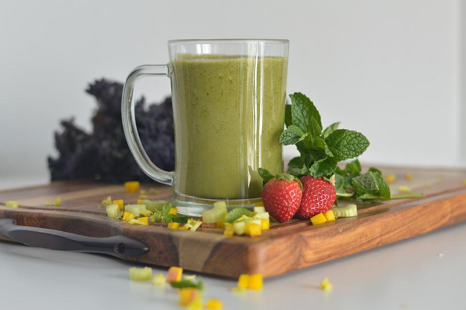 Gezond en fit met groente