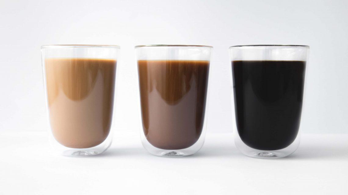 Zuivere koffie drink je zo